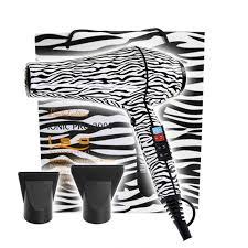 ISO Professional Föhn Zebra