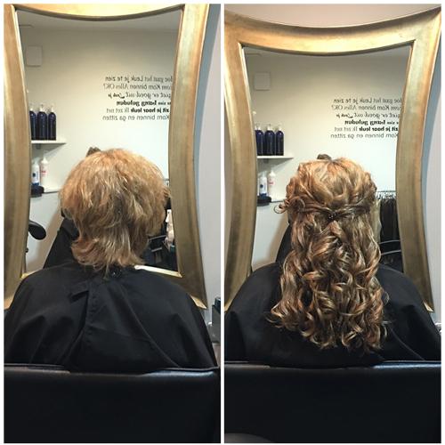 Wonderbaarlijk Voor en na foto's hairextensions – Hairextensions Kampen FZ-65